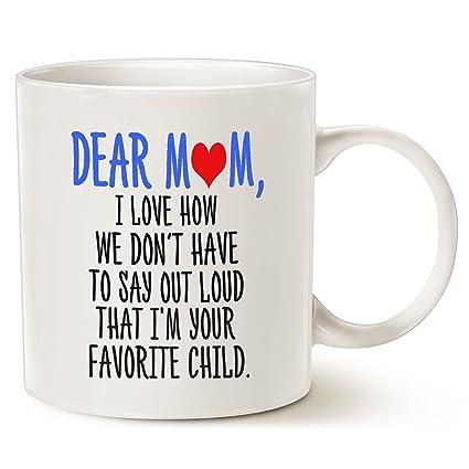 Amazon Com Mothers Day Funny Christmas Gifts Coffee Mug For Mom