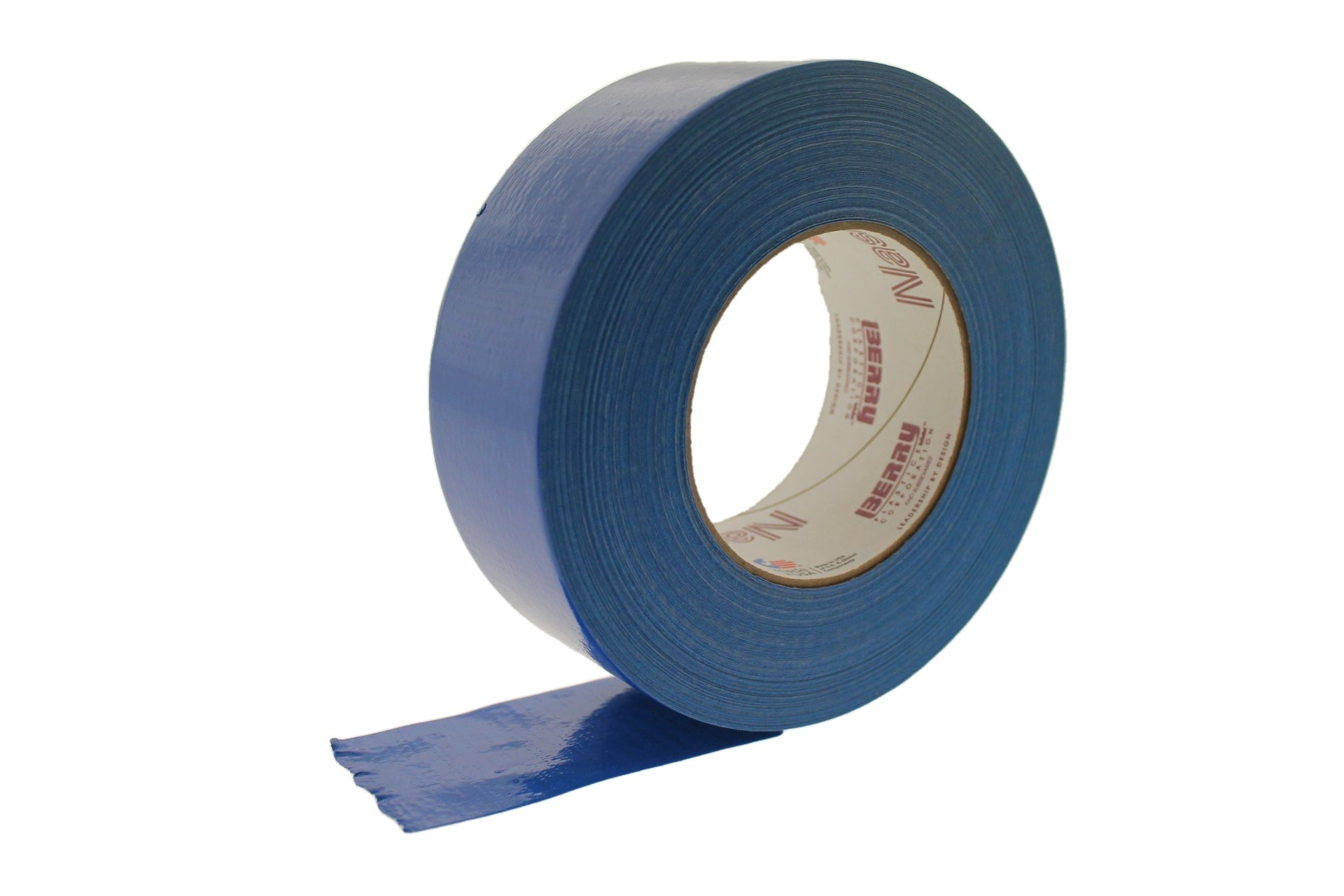 Nashua 2280 2'' Blue 9 Mil Cloth Duct Tape Waterproof Hand Tearable UV Resistant High Visibility Industrial Grade Heavy Duty Pro Colored Duct Tape Colors USA Made 60yd