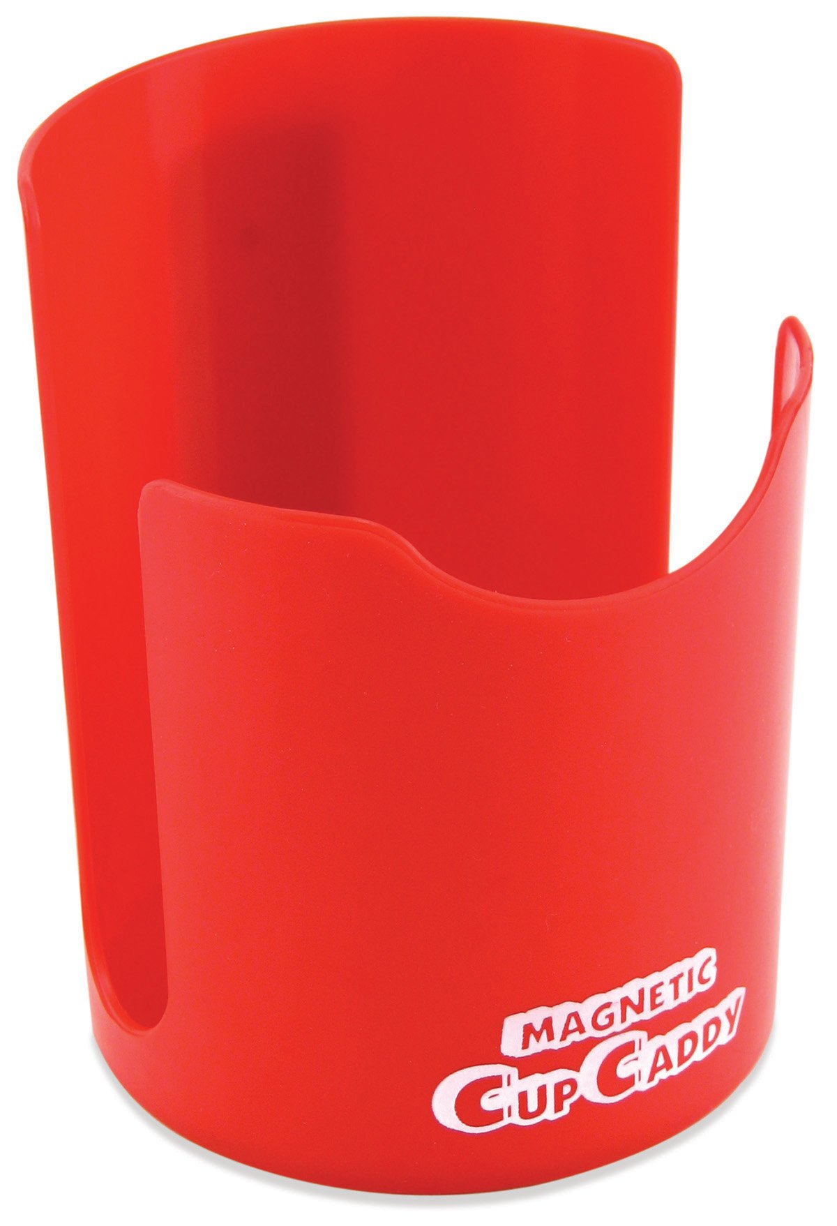 Master Magnetics 07582X6 Magnetic Cup Caddy, 3.5'' Length, 3.5'' Width, 4.625'' Height, Red (Pack of 6)