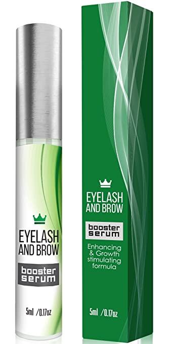 c1c86e31e7d Natural Eyelash Growth Serum - Lash Booster & Eyebrow Enhancing Serum to  Grow Thicker, Longer