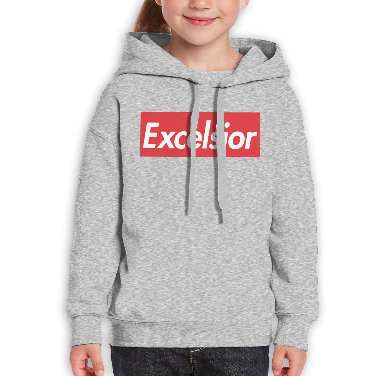 Xxxx Dtjscl Boys Girls Excelsior Teen Youth Hoody Black