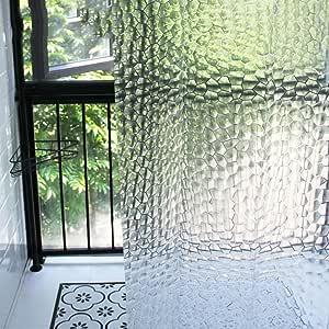Cortinas de ducha eva,Impermeable y espesado anti-Moho baño cortina ducha mampara de cortina-C 180x220cm(71x87inch): Amazon.es: Hogar