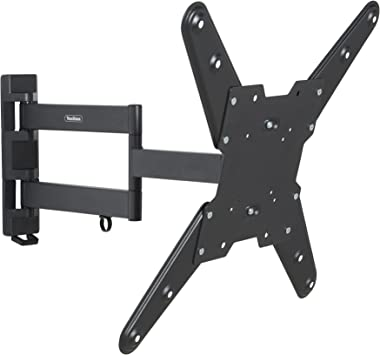 Amazon Com Vonhaus Ultra Slim Cantilever Articulating Arm Swivel And Tilt Wall Mount Tv Bracket For 26 55 Inch For Lcd Led 3d Plasma Tvs Load Capacity 88lb 400x400 Vesa Electronics