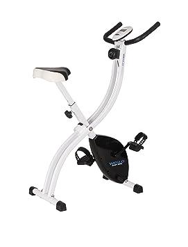 Weslo Easy Bicicleta estática Plegable Unisex, Color Blanco/Negro