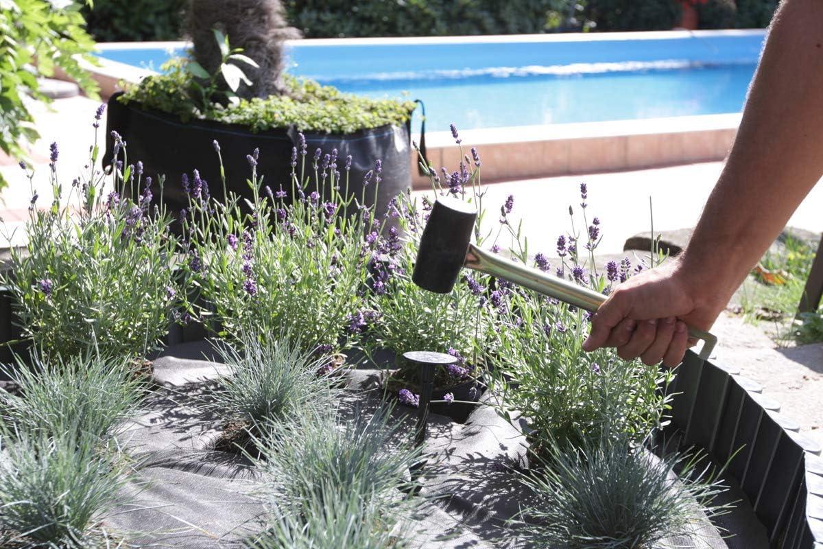 GARDENIX 10 St/ück TerraPEG XL Extrem stabile Bodenanker f/ür harten B/ödenErdanker Erdn/ägel f/ür Gartenvlies Sandkastenabdekung Unkrautvlies Maulwurfnetz Allzweckplane