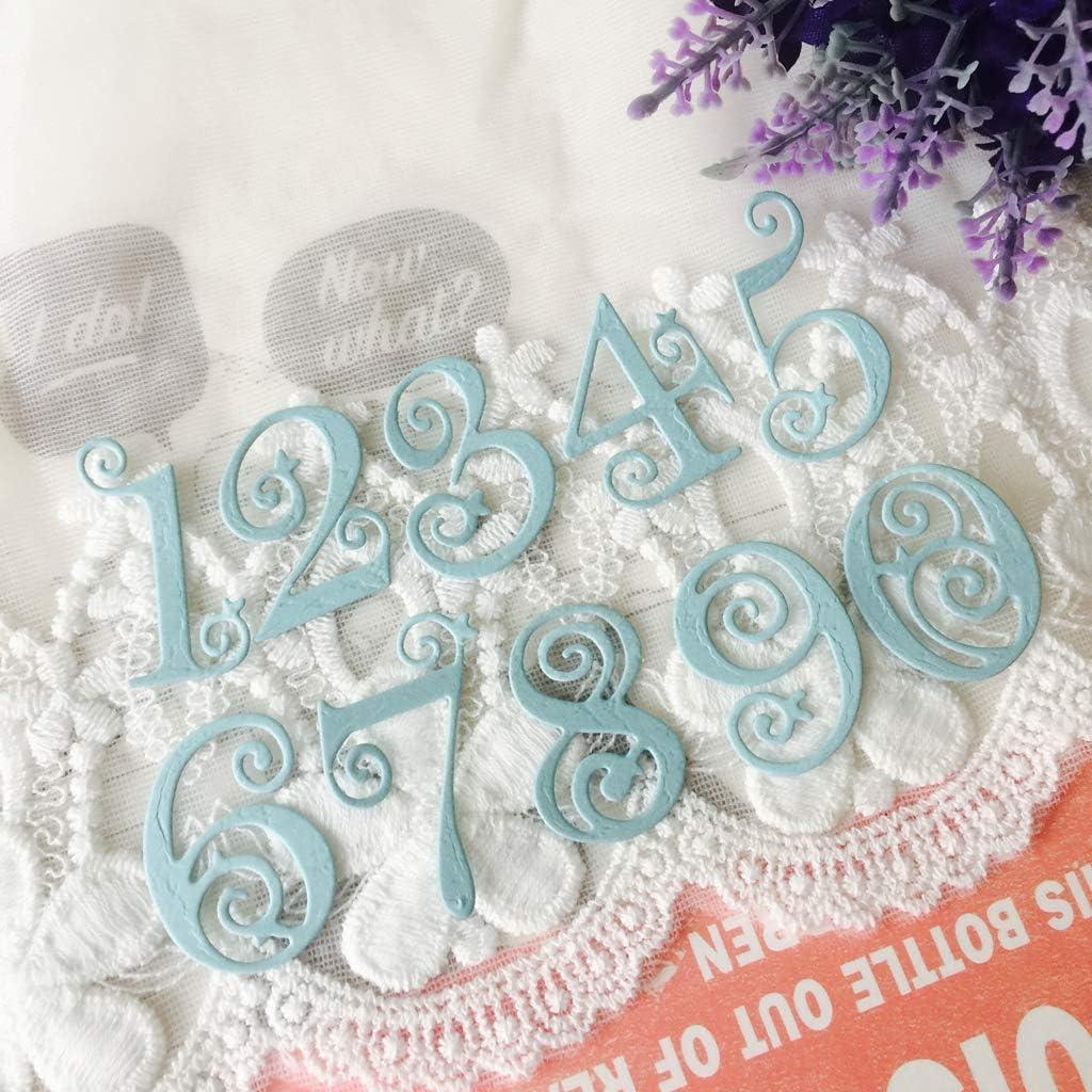 Qingchin Cut Dies Set Kitchen Ware Clear Stamps Seal+Cutting Dies Stencil Set DIY Scrapbooking