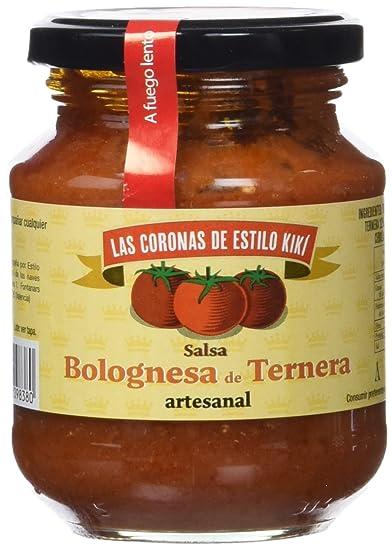 Las Coronas Artesanal Salsa Boloñesa de Pollo - Paquete de 6 x 300 gr - Total