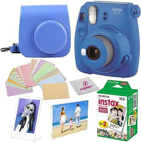Fujifilm Instax Mini 8 Cámara instantánea fuji + funda para cámara ...