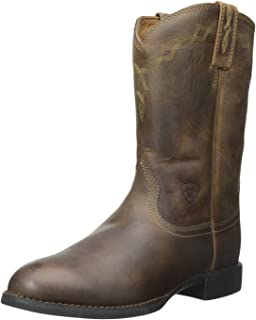 Amazon.com | Ariat Women&39s Heritage Roper Work Boot | Mid-Calf