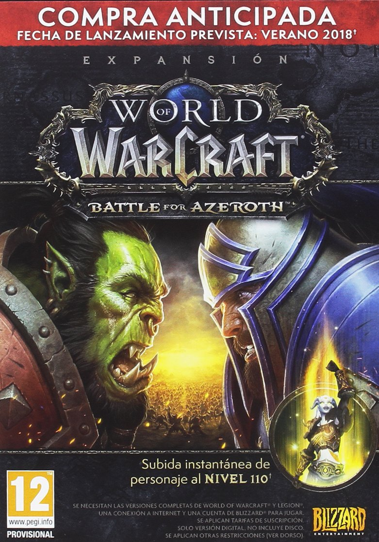 World of Warcraft: Battle for Azeroth - Caja Precompra ...