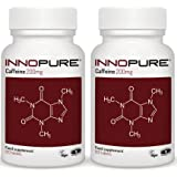 Caffeine Tablets Duo Saver Pack, Introductory Offer | 240 x 200mg High Grade Tablets | Pre Workout, Energy Boost | Innopure