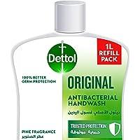 Dettol Original Handwash Liquid Soap Refill for effective Germ Protection & Personal Hygiene (protects against 100…