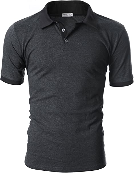 Cotton Hot Short Sleeve T Shirt Slim Fit Sports T Shirt Men/'s Casual Polo Tee