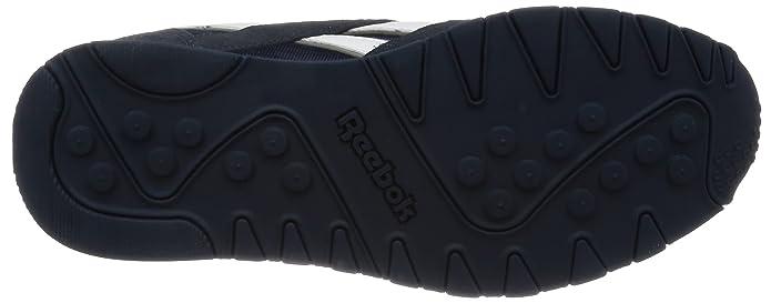 Amazon.com   Reebok Mens Classic Sneaker, team navy/platinum, 5 M US   Fashion Sneakers