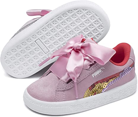 scarpe puma heart bambina