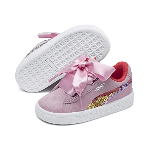 PUMA Mädchen Suede Heart Trailblazer SQN Ps Sneaker: Amazon