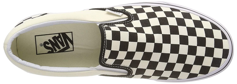 Vans AUTHENTIC, AUTHENTIC, Vans Unisex-Erwachsene Sneakers schwarz/Weiß Checkerboard 4cd58f