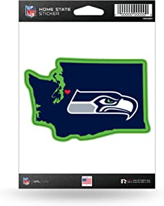 NFL Rico IndustriesHome State Sticker, Seattle Seahawks