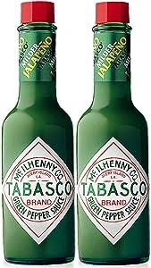 Tabasco Milder Green Pepper Sauce, 5 Ounce (2 pack)