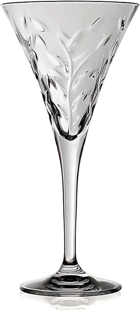 Lorenzo Rcr Crystal Laurus Collection Wine Glass Set Of 6 Drinkware Sets Wine Glasses