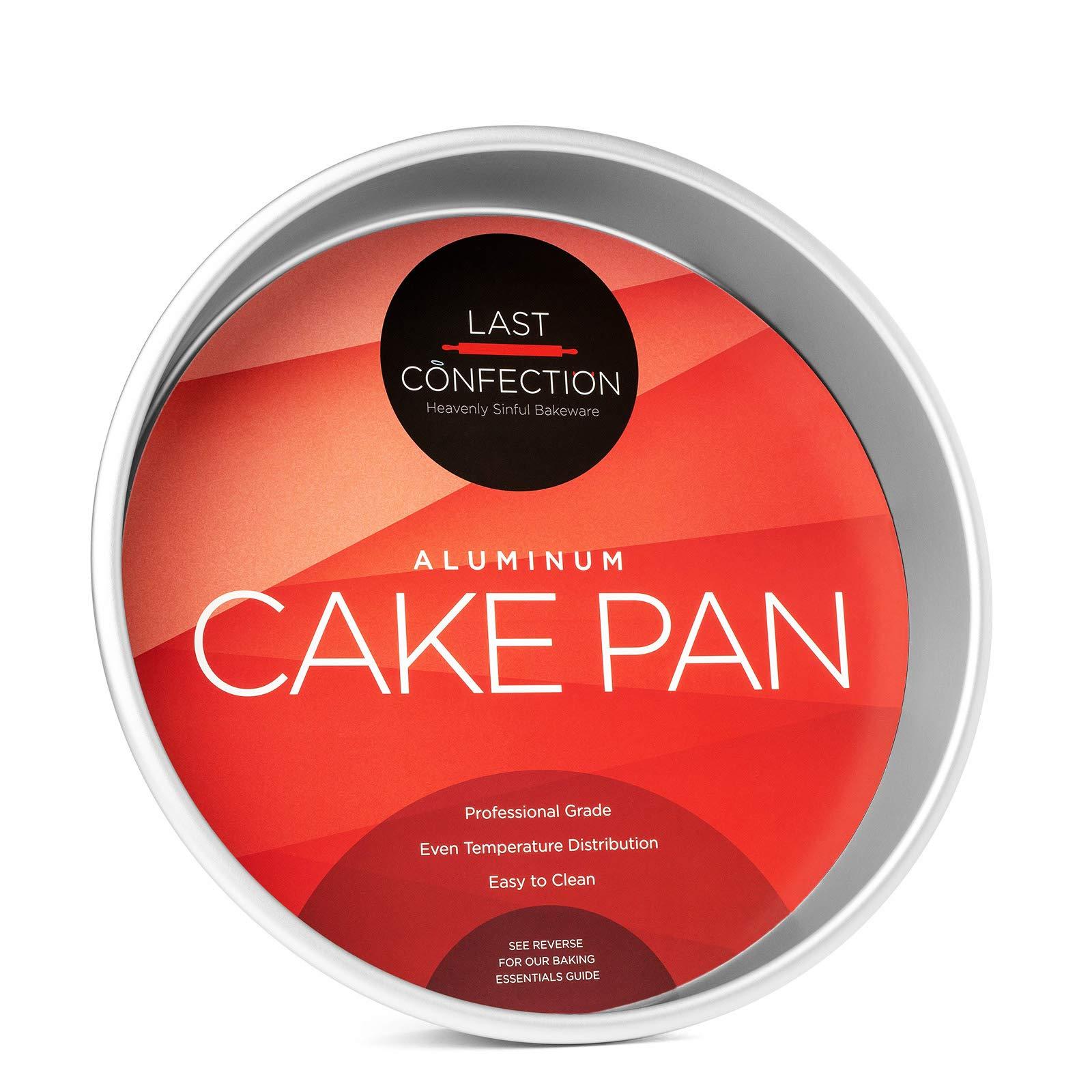 Last Confection 10'' x 2'' Deep Round Aluminum Cake Pan - Professional Bakeware