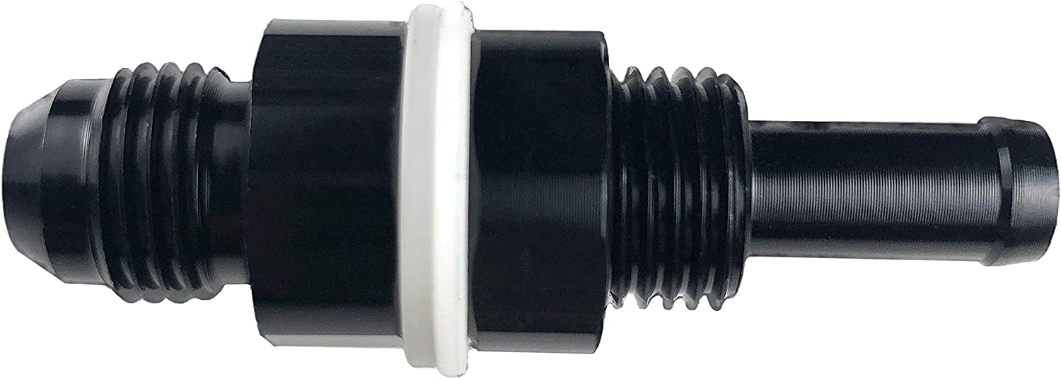 10AN Hose Fitting Connector Hose Separator for Oil//Air//Fuel Line Hose 8AN 6AN