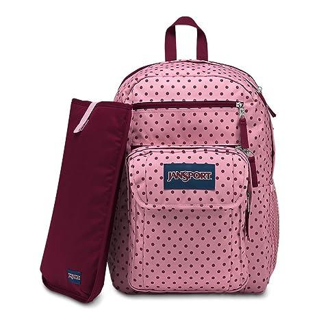 107910d0d0 Amazon.com  JanSport Digital Student Laptop Backpack - Vintage Pink Dot   Computers   Accessories