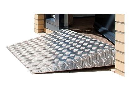 fabacare Premium Rampa aluminio, Mobile (con mango y ...