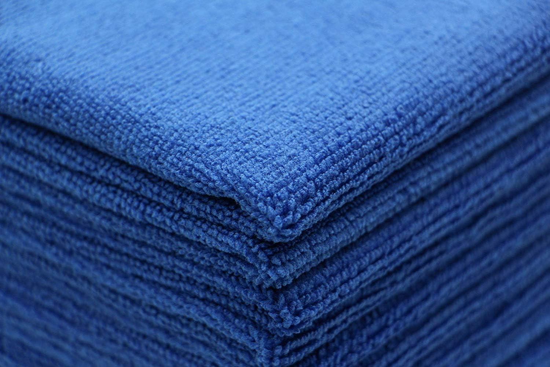 Blu asciugatura rapida 30 x 30 cm confezione da 10 30 x 30 cm panni multiuso da cucina panni per lavare i piatti FYIEN panni in microfibra per la pulizia dei piatti