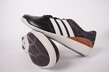 Adidas porsche design 550 hombre  zapatos color blanco gris azul