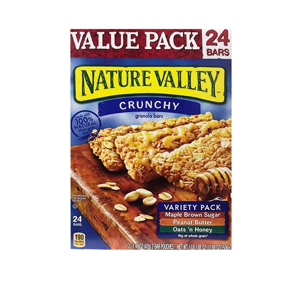 Nature Valley Crunchy Granola Bars Variety Pack 24 Bars