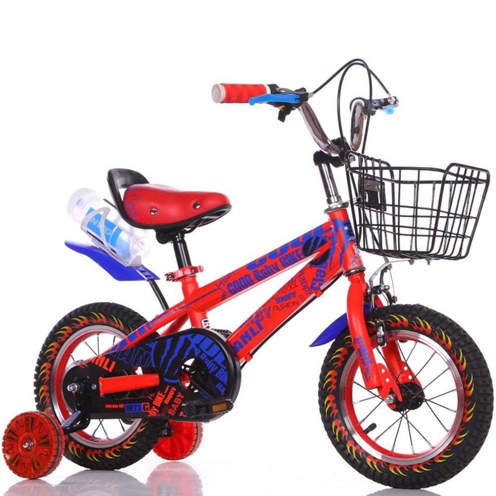 子供用自転車、男の子用ベビーカー、女の子用自転車、子供用サイクリング ( 色 : 赤 , サイズ さいず : 98cm ) B078KKS1QL 98cm|赤 赤 98cm