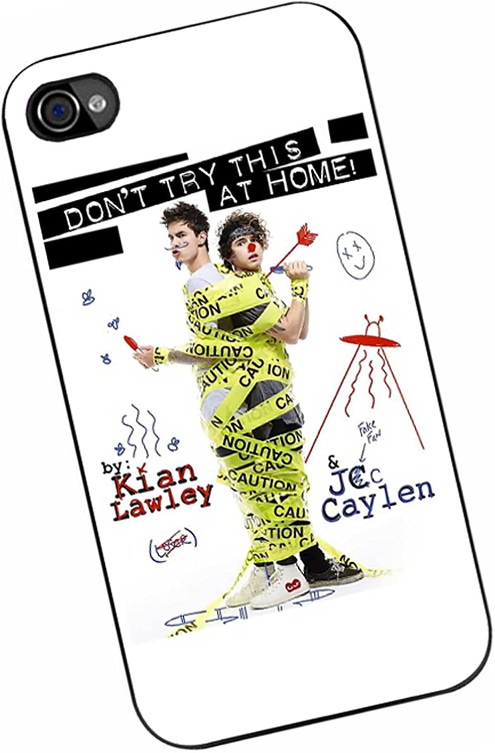 Kian and jc Don t Try This at Home for iPhone 4/4s Case
