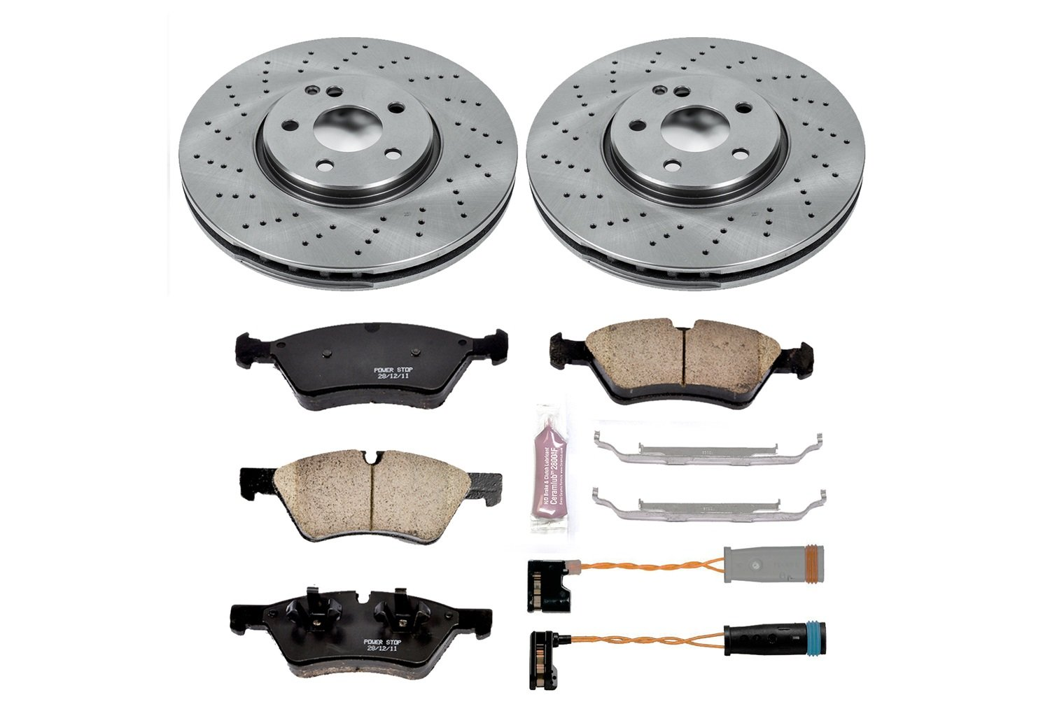 KOE3038 1-Click OE Replacement Brake Kit Autospecialty