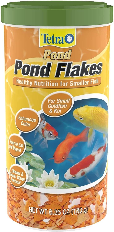 Tetra Pond Goldfish Flakes, 6.35 oz.