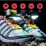 Night Runner and Night Trek Shoe Lights - For Running, Walking, Hiking, Camping, Hunting and Fishing
