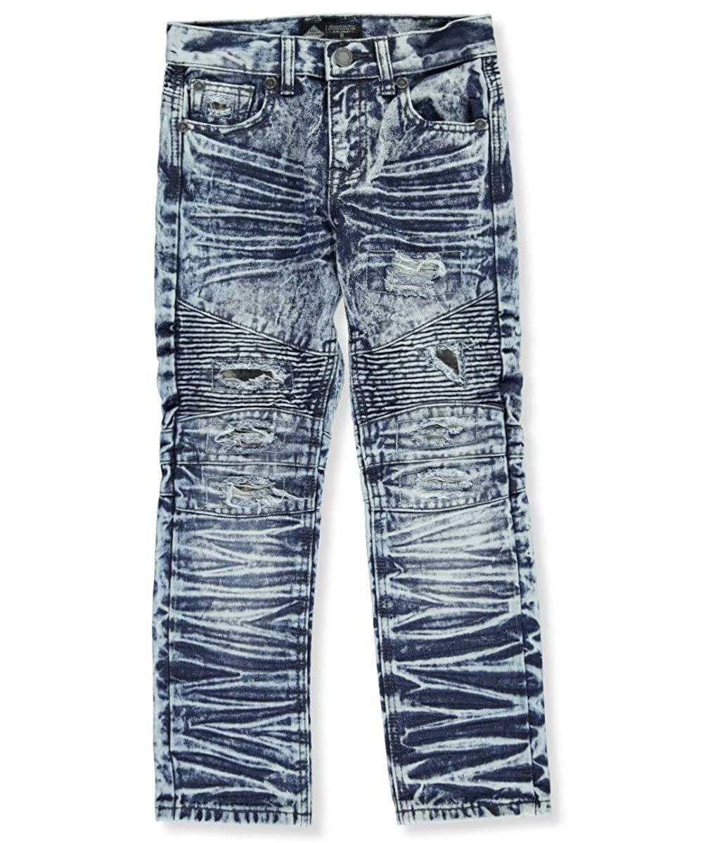 Road Narrows Big Boys' Distressed Jeans 12