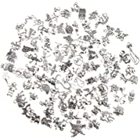Baosity 100 Piece/Lot Steampunk Charms Pendant Connector for Necklace Bracelet Anklet DIY Mixed Assorted Shape