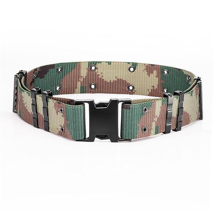 YAKEDA Cinturón táctico de seguridad ajustable Cinturón de ...