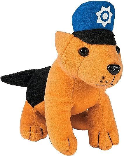 Set Of Dog Stuffed Animals, Amazon Com Fun Express Stuffed Animal Police Dog Toys Set Of 12 Plush Dogs Toys Games