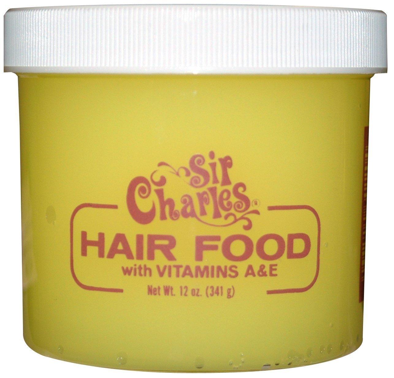 Sir Charles Hair Food with Vitamins A & E 12 oz