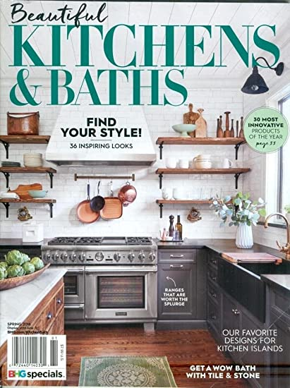 Superieur (FREE Shipping ) BHG Beautiful Kitchens U0026 Baths Magazine Spring 2018