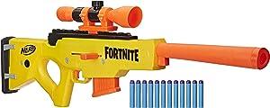 NERF Fortnite BASR-L Bolt Action, Clip Fed Blaster