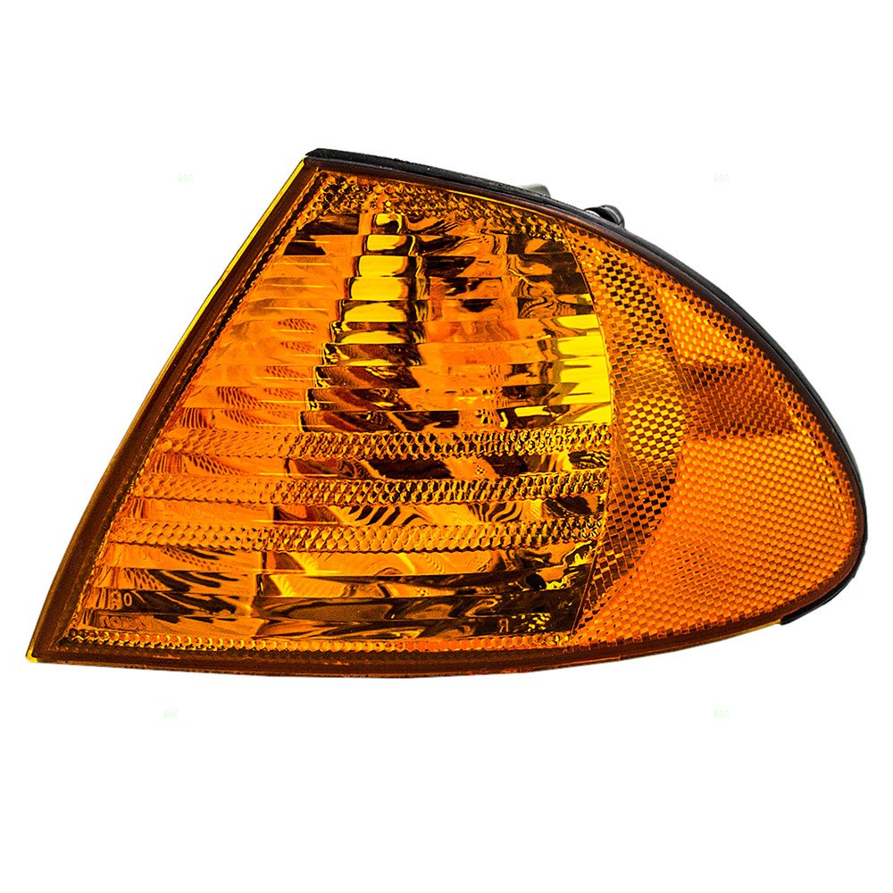 Drivers Park Signal Corner Marker Light Lamp Lens Replacement for BMW 63136902765