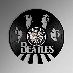 Levesdecor - Beatles Vinyl Wall Clock
