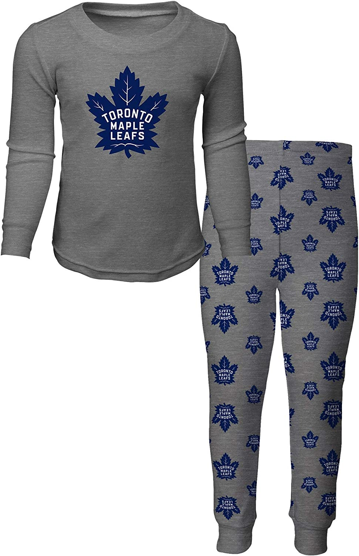 Toronto Maple Leafs Toddler Long Sleeve T-Shirt /& Pants Sleep Set