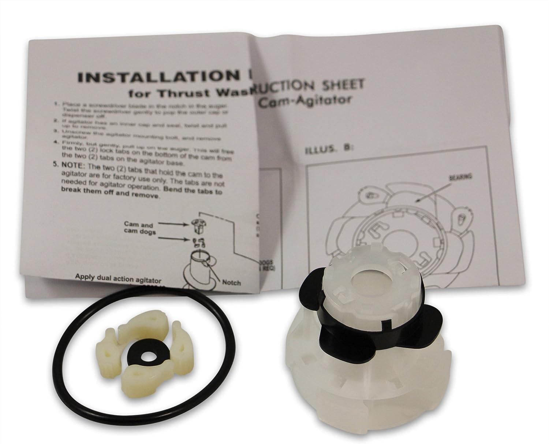 285811 Kit Riparazione AGITATORE AP3138838 Per Kenmore Whirlpool Confezione da 3