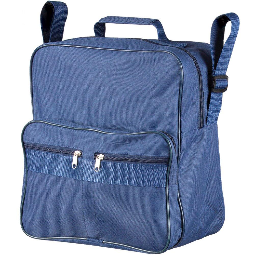 Wheelchair Backpack Bag - Zippered Pockets Accessory Keep Essentials Handy
