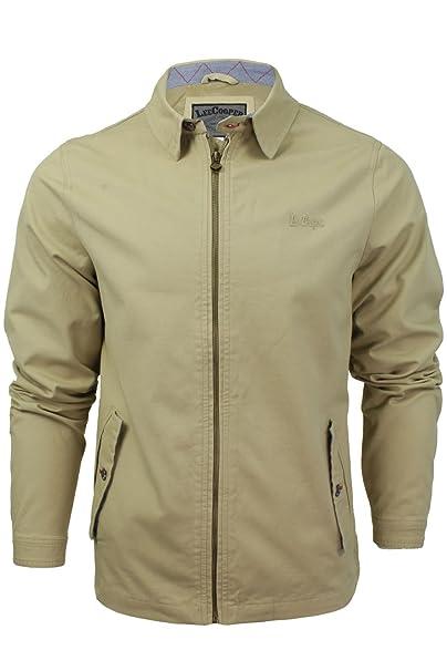 Lee Cooper - Los Hombres De Midhurst Classic Mod Retro Harrington chaqueta: Amazon.es: Ropa y accesorios