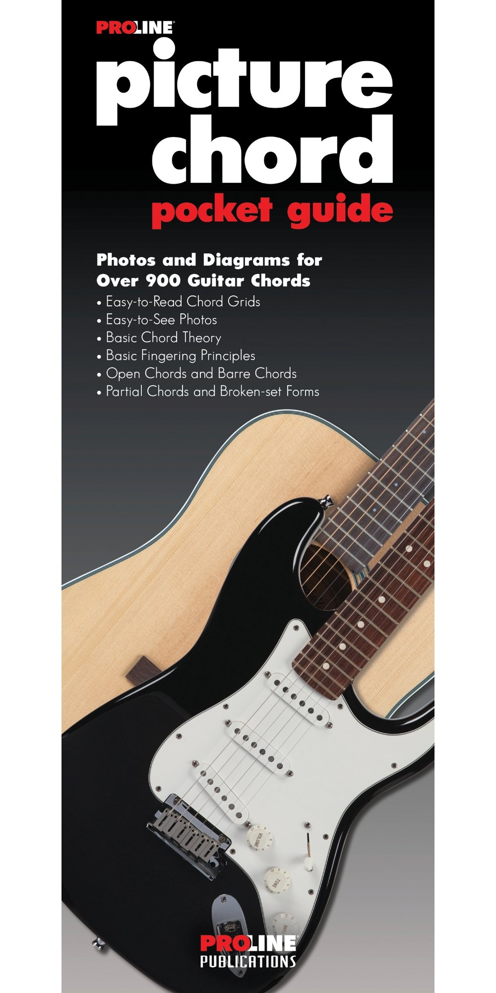 Amazon Proline Picture Guitar Chord Pocket Guide Book